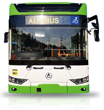 最新型EVバス